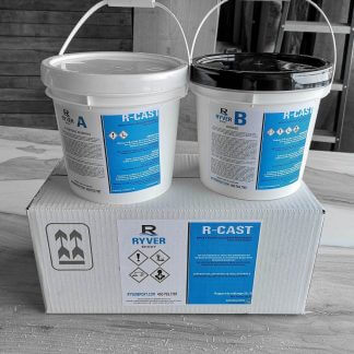 R-CAST epoxy resin for river table, 1.5 gallon format