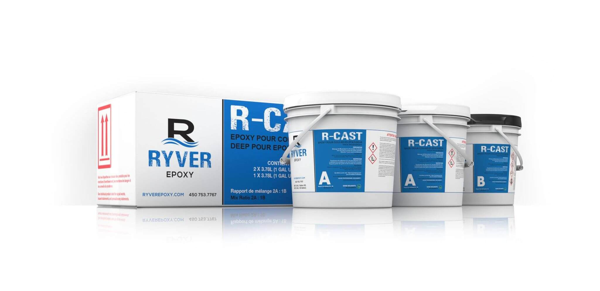 R-Cast 3 gallons ryver epoxy