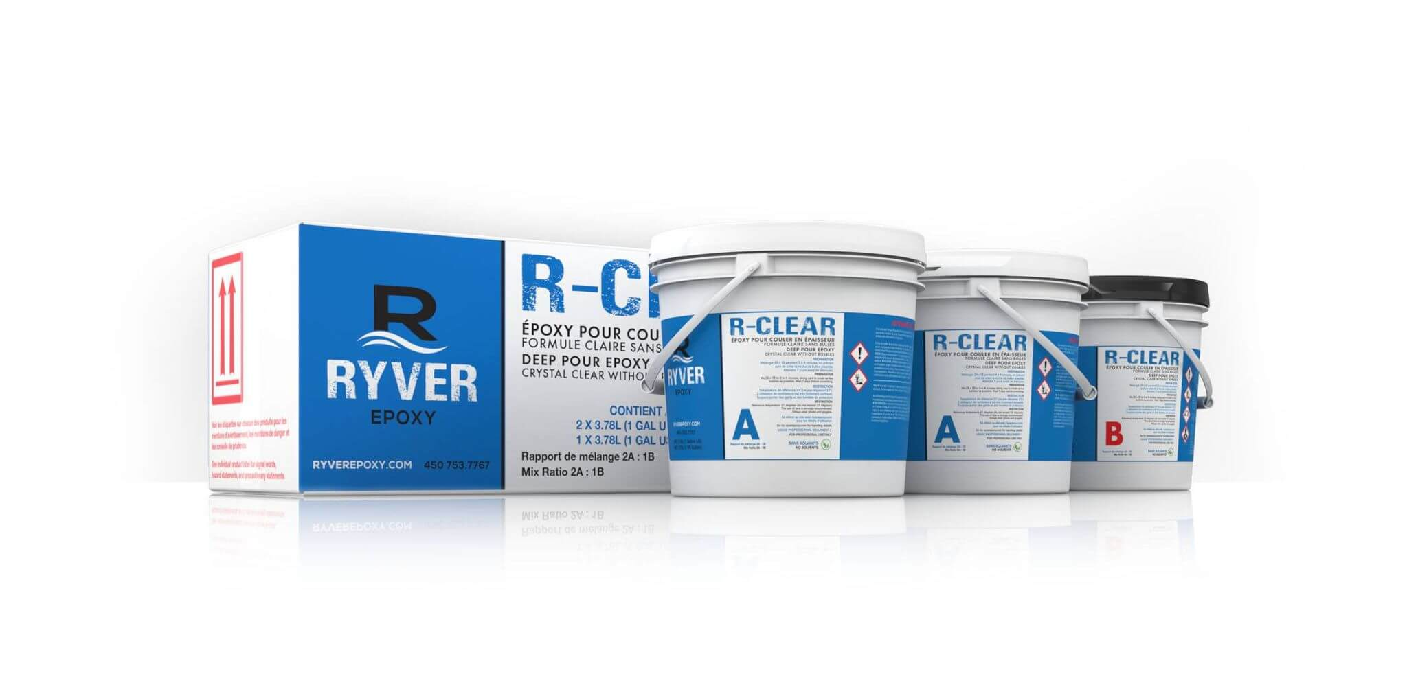 Ryver R-Clear 3 gallons