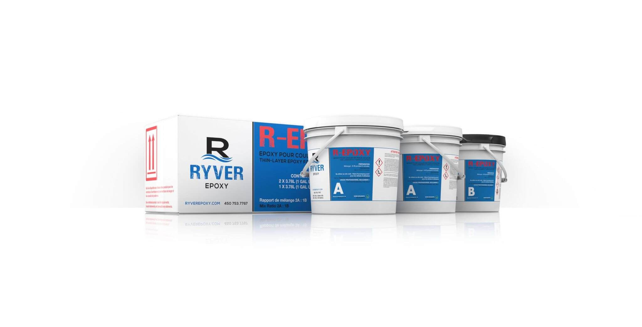 Ryver R-Epoxy 3 gallons