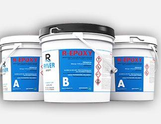 3 gallons de résine r-epoxy